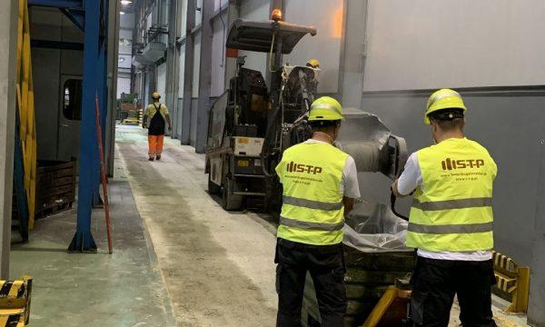 Frezowanie betonu i innych powłok